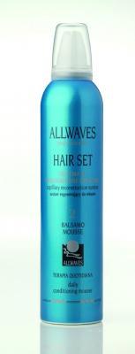 Allwaves HAIR SET Balsamo Mousse 300ml