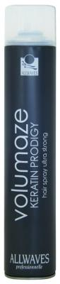Allwaves Volumaze Keratin Prodigy Hair Spray Ultra Strong objemový lak na vlasy 750ml