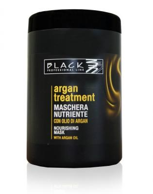 Black Arganová maska na vlasy Argan Treatment 1000ml