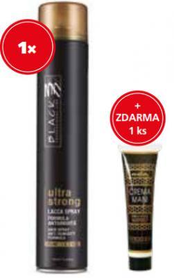 Black Lak na vlasy Ultra Strong 750 ml + krém na ruce 40ml zdarma