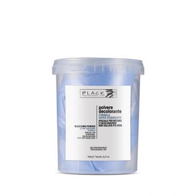 Black Professional Melírovací a Odbarvovací Přípravek Bezprašný 1000 G
