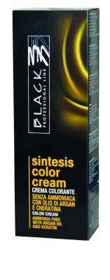 Black Sintesis barvy na vlasy bez amoniaku