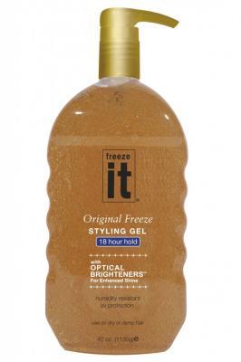 Freeze It Extrémně Tužící Gel s Leskem 1135 G