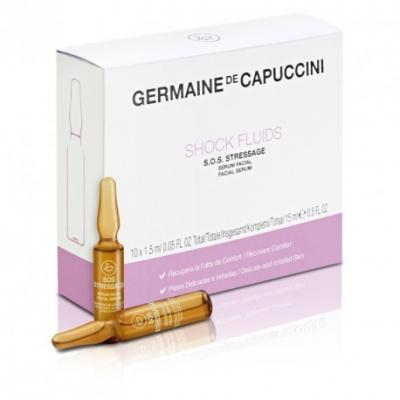 Germaine de Capuccini fluid šokový s.o.s. stressage 10x1,5 ml