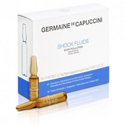 Germaine de Capuccini fluid šokový stop pollution 10x1,5 ml