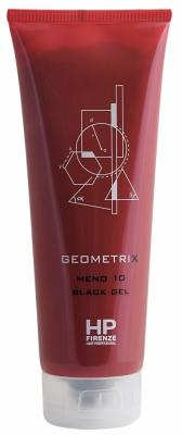 HP Firenze Hair Professional Geometrix Black Gel 250 - gelová maska na vlasy
