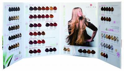 Lovien vzorník barev na vlasy Lovin Color