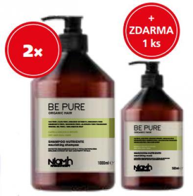 Niamh Hairkoncept Nourishing 2 x šampon 1000ml + 1 x maska 500ml zdarma