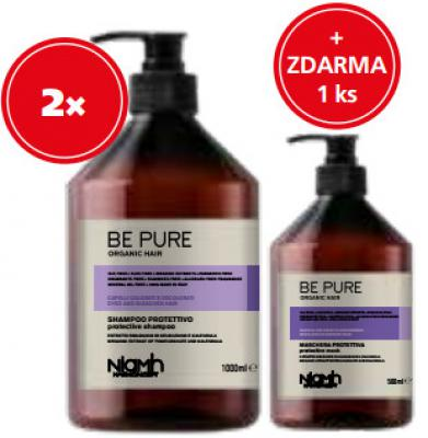 Niamh Hairkoncept Protective 2 x šampon 1000ml + 1 x maska 500ml zdarma