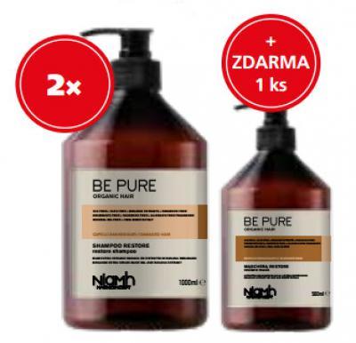 Niamh Hairkoncept Restore 2 x šampon 1000ml + 1 x maska 500ml zdarma