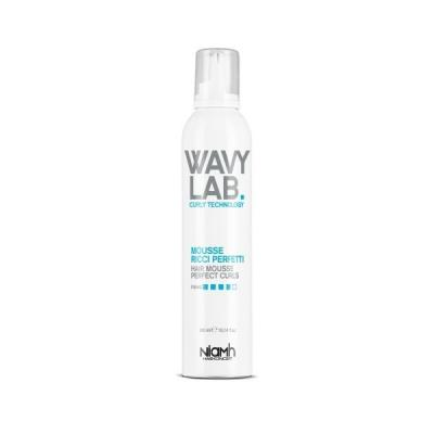 Niamh Hairkoncept Wavy Lab Hair Mousse Perfect Curls pěna pro kudrnaté vlasy 300ml
