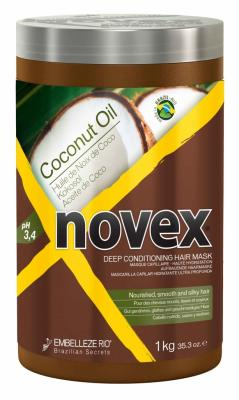 Novex Coconut Oil Deep Treatment Mask 1000 g - vlasová maska s kokosovým olejem