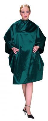 Olivia Garden Charm Cape Teal - kadeřnická pláštěnka
