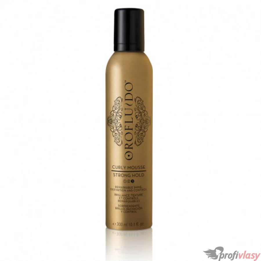 Orofluido pěna na vlasy Curly Strong Hold 300ml
