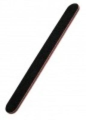 Pilník rovný, černý, hrubý - 8 mm