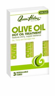 Queen Helene Olive Oil Hot Treatment 3 x 30ml - vlasový zábal