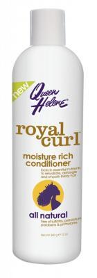 Queen Helene Vlasový Kondicionér Royal Curl pro Vlnité a Kudrnaté vlasy Hydratační 340 ml