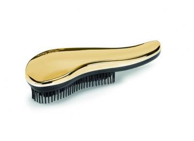 Rozčesávací kartáč na vlasy Kiepe Lady bfly Gold