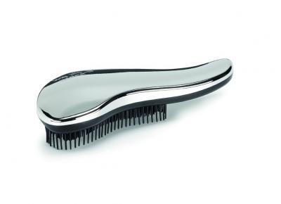 Rozčesávací kartáč na vlasy Kiepe Lady bfly Silver