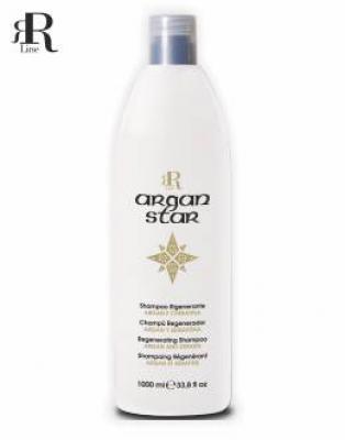 RR Line ARGAN STAR Šampon regenerační pro chemicky ošetřované vlasy 1000ml 17059