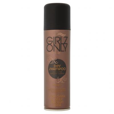 Suchý šampon na tmavě hnědé vlasy Girlz Only 150ml