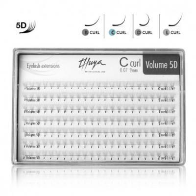 Thuya řasy 3D Mix 0,07 161ks