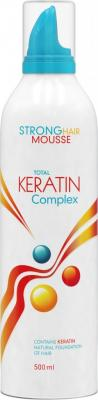 Total Keratin Complex Strong Hair Mousse - tužidlo na vlasy 500ml