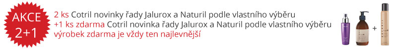Akce Cotril Jalurox a Naturil